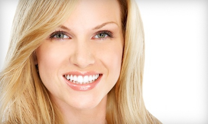 Advanced Smiles - Multiple Locations: Dental Exam Package or Teeth-Whitening Treatment at Advanced Smiles (Up to 77% Off)
