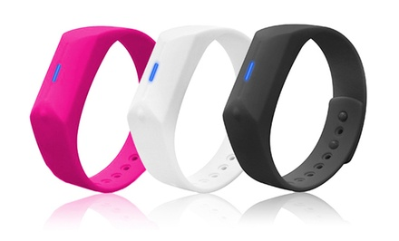 groupon daily deal - Skechers GOwalk Activity Tracker Wristband with App. Multiple Colors Available. Free Returns.