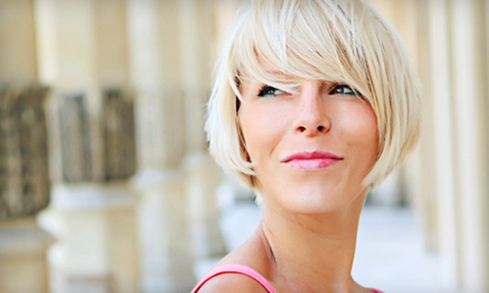 Beautiful Daze Salon - Brandon: $39 for Partial Highlights with Haircut and Style at Beautiful Daze Salon ($80 Value)