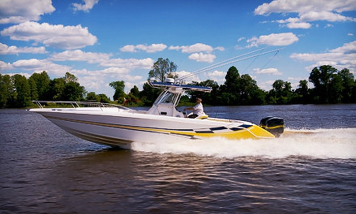 Making Waves Boat Club - Lake Ray Hubbard at Captain's Cove Marina: Five-Hour Pontoon- or Deck-Boat Rental, or Five-Hour Ski-Boat Rental from Making Waves Boat Club (Up to 75% Off)