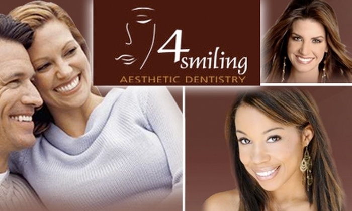 4Smiling Aesthetic Dentistry - Pasadena: $69 for Exam, X-Ray, and Cleaning at 4Smiling Dentistry