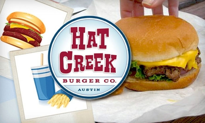 Hat Creek Burger Co. - Allandale: $3 for $6 Worth of Hand-Packed Burgers, Fresh-Cut Potato Fries, Blue Bell Shakes, and More at Hat Creek Burger Co.