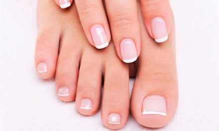 $52 for a Shellac Mani-Pedi Package from Nails by Lindsey at Lake O Beauty Studios (Up to $115 Value)
