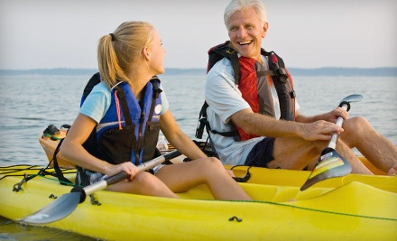 2-Hour Kayak Rental for 2 (a $70 value) - Ponce Inlet Water Sports in Ponce Inlet