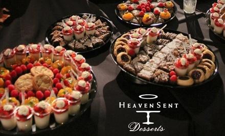 $15 Groupon to Heaven Sent Desserts - Heaven Sent Desserts in San Diego
