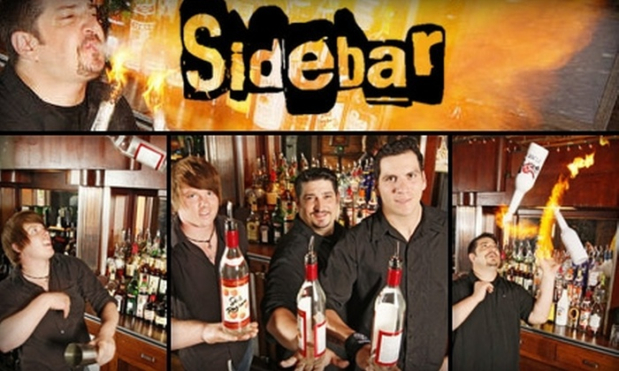 Sidebar - Covington: $15 for $30 Worth of Bar Fare and Drinks at Sidebar