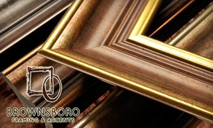 Brownsboro Framing Company - Windy Hills: $45 for $100 Worth of Custom Framing at Brownsboro Framing Company