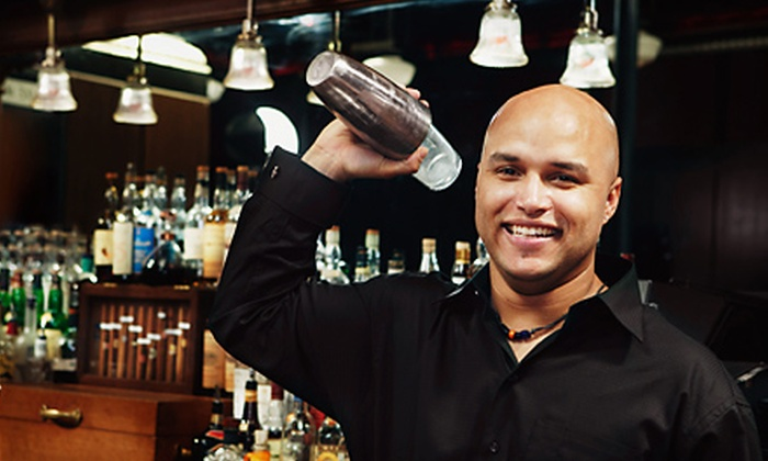 Professional Bartenders School - Multiple Locations: Two-Week Professional Mixology Course or Six-Hour Introductory Bartending Course at Professional Bartenders School (Up to 68% Off)