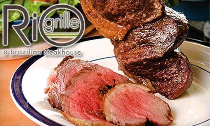 The Rio Grille - West End: $25 for $50 Worth of Brazilian Steakhouse Fare and Drinks at Rio Grille