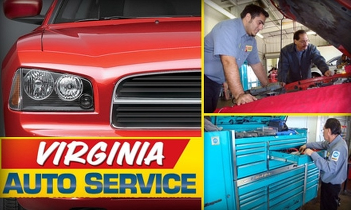 Virginia Auto Service - Phoenix Country Club: $37 for a Full Springtime Tune-Up of Your Car Plus One Year of Emergency Road-Side Assistance at Virginia Auto Service (Up to $210 Value)