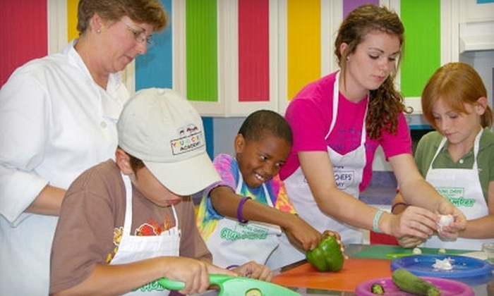 Young Chefs Academy - Morganville: $17 for a 90-Minute Cooking Class at Young Chefs Academy in Morganville ($35 Value)