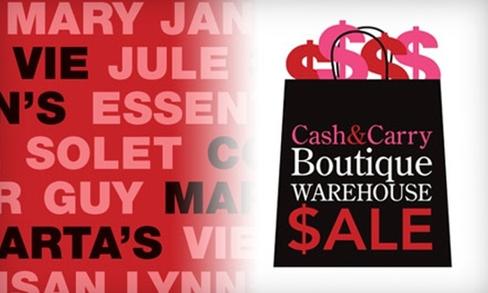 Cash and Carry Boutique Warehouse - Chesterfield: $3 Admission to the Cash & Carry Boutique Warehouse Sale