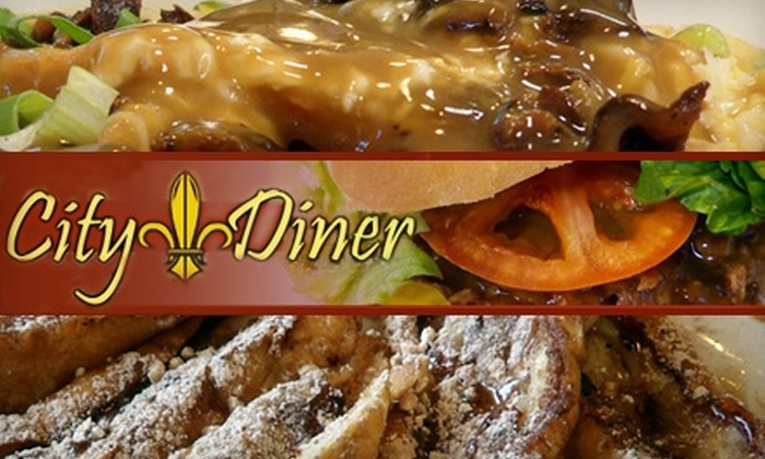 City Diner - 5: $7 for $15 Worth of Comfort Fare at City Diner in Metairie