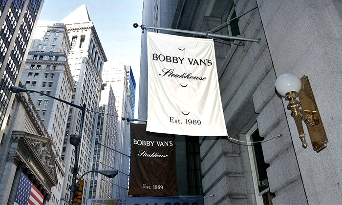 dcc3cf3812 Up to 30% Off Steak and Seafood at Bobby Van s Steakhouse