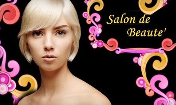 Salon de Beaute - Norman: $20 for $50 Worth of Salon Services at Salon de Beaute in Norman