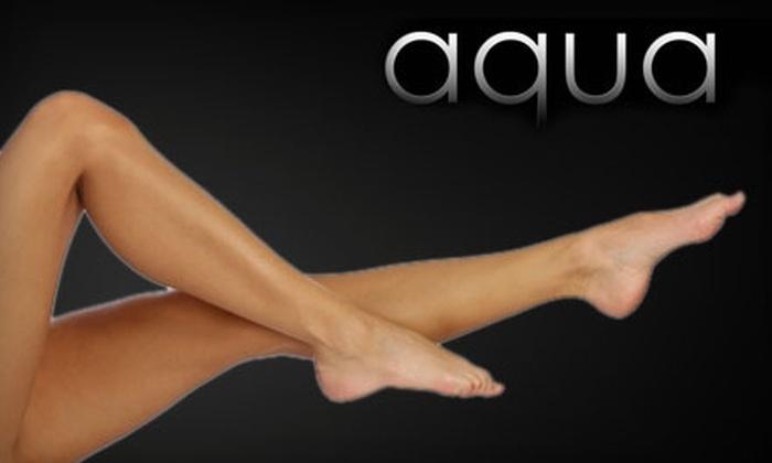 Aqua Colour Lounge & Medical Spa - Nashville: $99 for Six Laser Hair-Removal Treatments at Aqua Colour Lounge & Medical Spa (Up to $750 value)