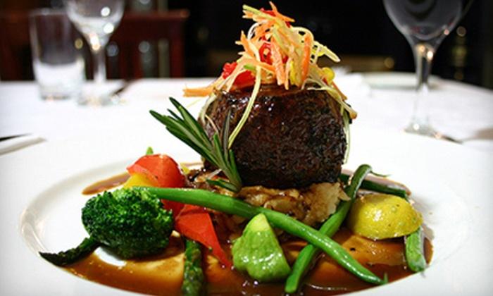 La Maquette Restaurant - Toronto (GTA): $29 for $60 Worth of French Fusion Fare and Drinks at La Maquette Restaurant