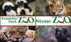 Zoo New England - Multiple Locations: One General Admission to Either Franklin Park Zoo in Boston or Stone Zoo in Stoneham from Zoo New England (Up to $14 Value). Choose Between Two Options.