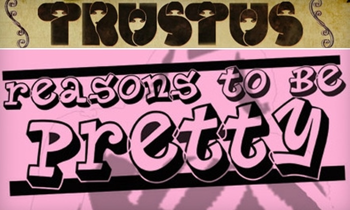 """""""Reasons to Be Pretty"""" at Trustus Theatre - The Congaree Vista: $10 Ticket to """"Reasons to Be Pretty"""" at Trustus Theatre ($20 Value)"""