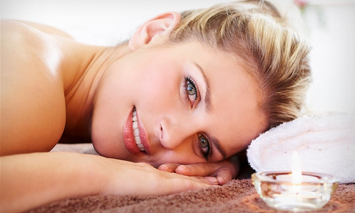 Heaven on Earth Spa - Central City: Mani-Pedi, Coloured French Gel-Nail Set, or Spa Package at Heaven on Earth Spa (Up to 52% Off)