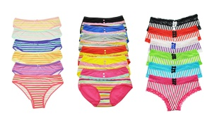 Angelina Striped Bikinis, Cheeksters, or Briefs at Angelina Striped Bikinis, Cheeksters, or Briefs, plus 6.0% Cash Back from Ebates.
