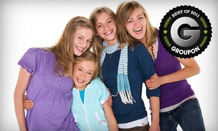 Life Photo Studios - Calgary: $39 for a One-Hour Family or Group Photo Session and a Digital Image at Life Photo Studios ($149 Value)