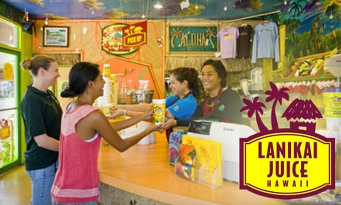 Lanikai Juice - Multiple Locations: $3 for $6 Worth of Smoothies, Bowls, and More at Lanikai Juice