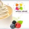 $7 for Two Froyos at White Velvet Frozen Yogurt