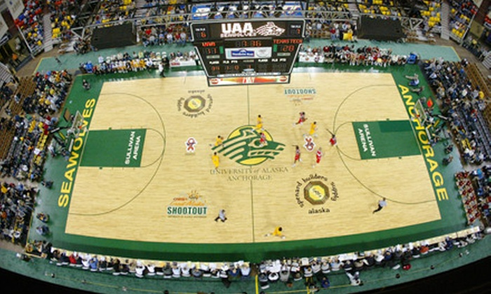 Carrs/Safeway Great Alaska Shootout - North Star: $60 for a 16-Game Tournament Package for the Carrs/Safeway Great Alaska Shootout at Sullivan Arena on November 23–26 ($120 Value)