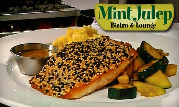 Mint Julep Bistro & Lounge - Columbia: $15 for $30 Worth of Contemporary Comfort Cuisine and Drinks at Mint Julep Bistro & Lounge