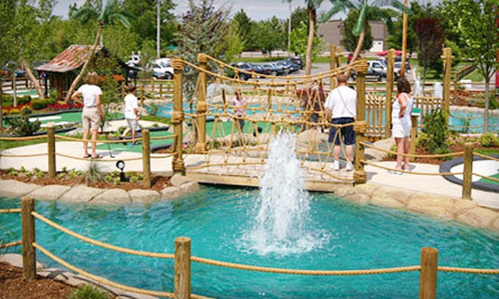 Paradise Mini Golf - Middleton: Round of Mini Golf for Two or Four with Small Ice Creams at Paradise Mini Golf in Middleton (Up to 49% Off)