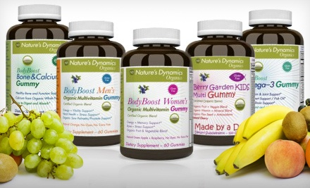 Nature's Dynamics: Women's Gummy Vitamin Package (a $59 value) - Gummy Vitamin Packages in