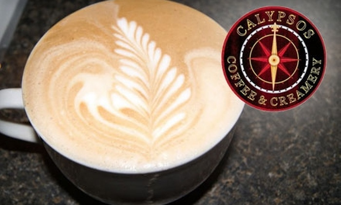 Calypsos Coffee & Creamery - Downtown: $9 for $18 Worth of Coffee and Cafe Fare at Calypsos Coffee & Creamery in Coeur d'Alene, Idaho