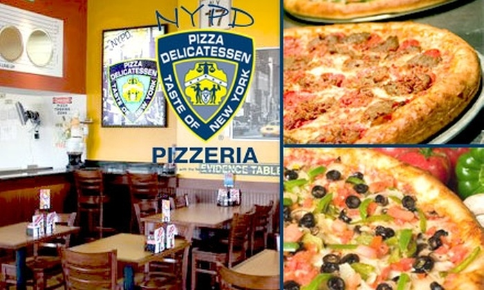 NYPD Pizza - Powers: $10 for $20 Worth of Pizzas and Thirst Quenchers at NYPD Pizza