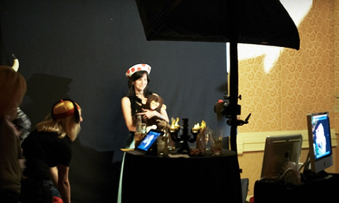 LA Photobooth - Woodside: $599 for a Three-Hour Photo-Booth Rental with Props and Costumes from LA Photobooth ($1,299 Value)