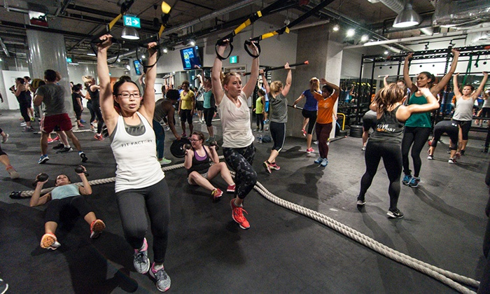 Fit Factory Fitness - Fit Factory Fitness - Toronto: C$25 for Five Group Training Classes at Fit Factory Fitness (C$140 Value)