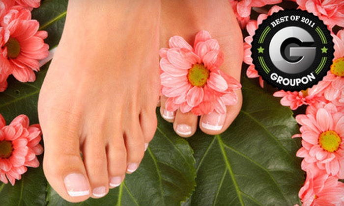 Damara Day Spa - Regina: $69 for a Massage Chair Pedicure and Products Package at Damara Day Spa ($138 Value)