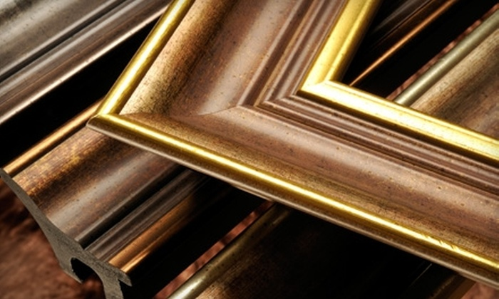 Row House Gallery - Milford: $40 for $100 Worth of Custom Framing at Row House Gallery & Custom Framing in Milford