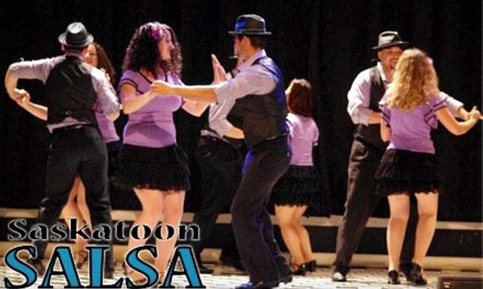 Saskatoon Salsa: A Five-Session Absolute Beginners Salsa Class at Saskatoon Salsa. Choose Between Two Options.