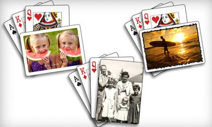 The Playing Card Factory - Mississauga: C$25 for Three Decks of Custom Playing Cards from The Playing Card Factory (Up to C$59.91 Value)
