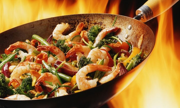 Wok With You - Henrietta: Pan-Asian Cuisine for a Party of Two or Party of Four or More at Wok With You (Half Off)