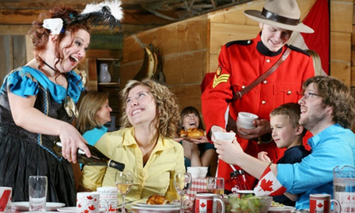 """Oh Canada Eh? Dinner Show - Niagara Falls: """"Oh Canada Eh?"""" Dinner Show Package for One, Two, or Four in Niagara Falls (Up to 58% Off)"""