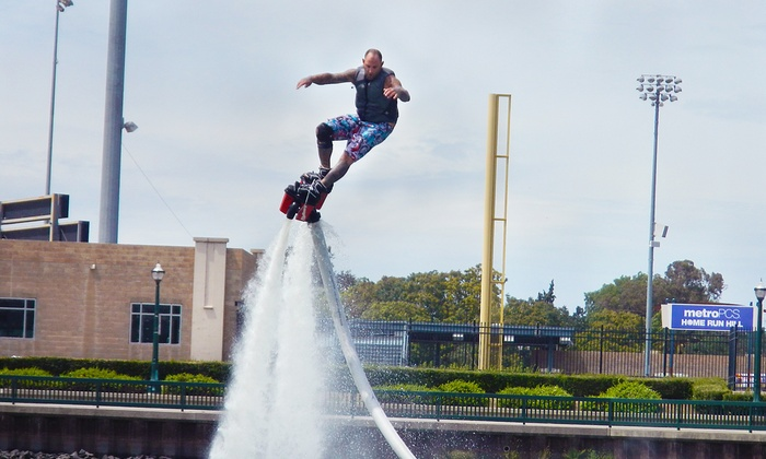 California Flyboards - North Sacramento: 30-Minute Flyboard Session for One or Two from California Flyboards (Up to 34% Off)