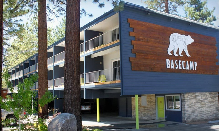 Basecamp Hotel - South Lake Tahoe, CA: One- or Two-Night Stay at Basecamp Hotel in Lake Tahoe, CA
