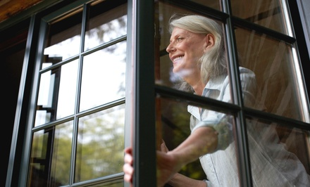 $49 for $100 Worth of Window-Cleaning Services from Window Genie