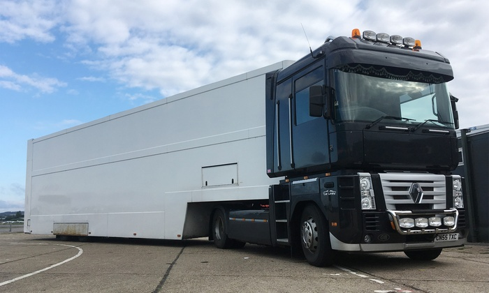 lorry driving experience experience limits groupon