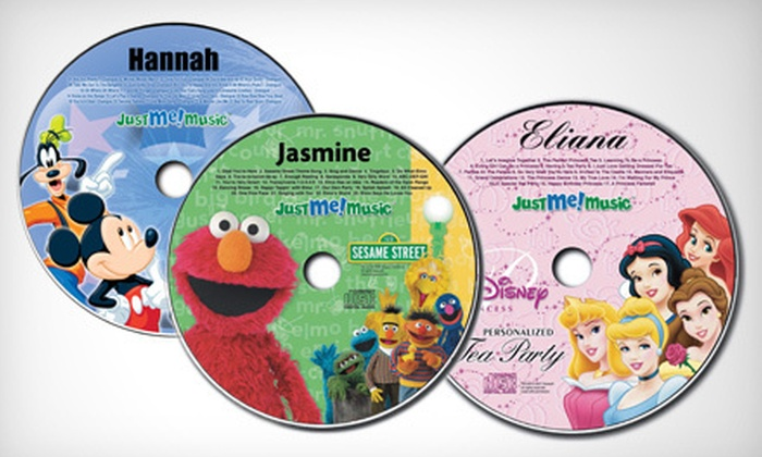 Just Me Music: $ 25 for $ 60 Worth of Custom Kids' Sing-Along CDs and DVDs from Just Me Music