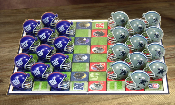 NFL Rivals Checkers Set: $15.99 for an NFL Rivals Checkers Set ($27.99 List Price). 20 Options Available. Free Shipping.