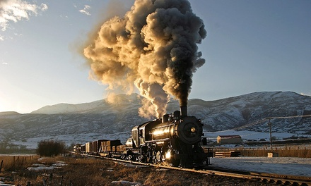 Monday Night or Scenic Train Ride for Two on Heber Valley Railroad (Up to 67% Off)