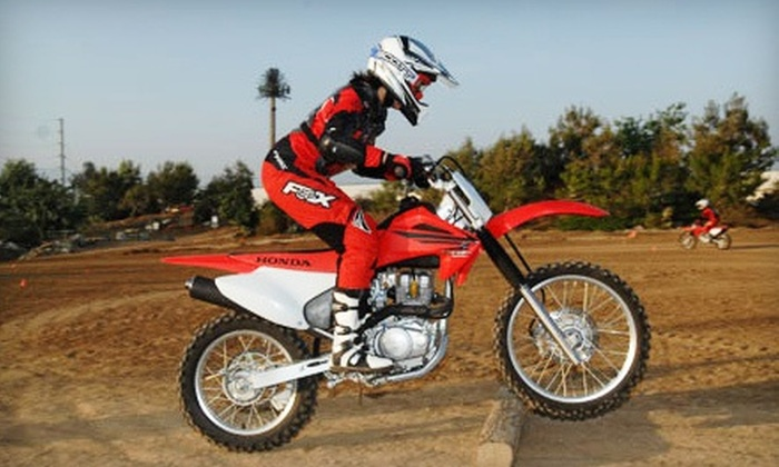 American Honda Rider Education Center - Colton: $89 for a Five-Hour Dirt-Bike Lesson at American Honda Rider Education Center ($180 Value)
